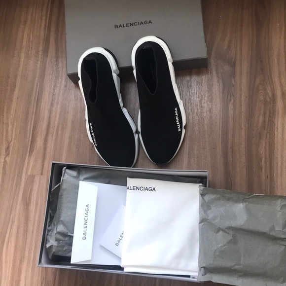 Balenciaga Shoes - BNWOT Balenciaga Sock Runners 9